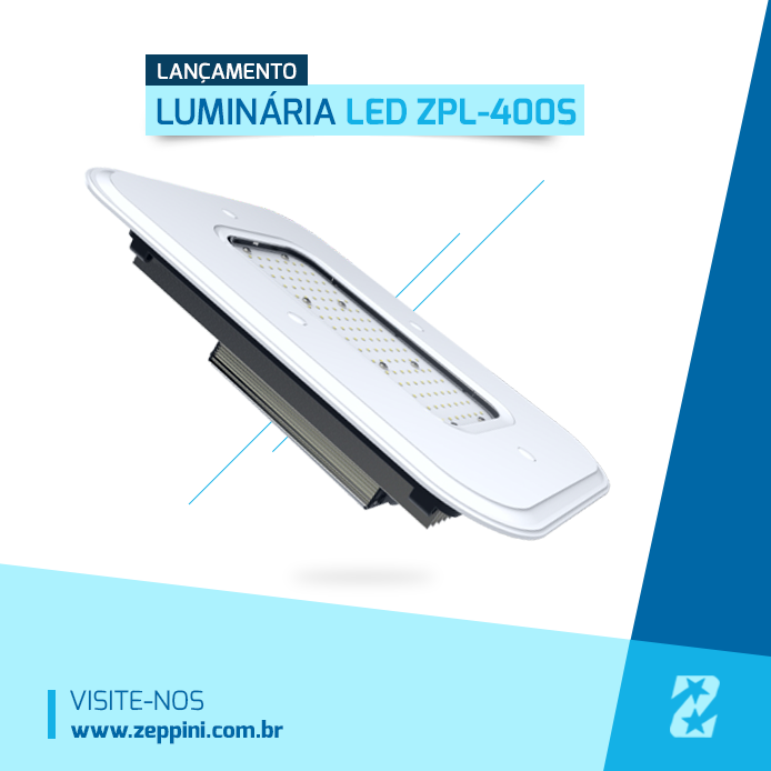Luminaria LED Zeppini Ecoflex - ZPL400S