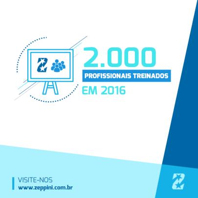 Treinamentos Zeppini Ecoflex em 2016