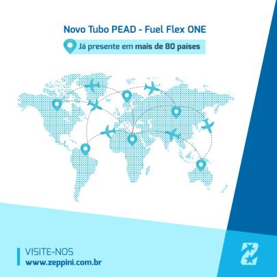 Novo tubo em PEAD Zeppini Ecoflex