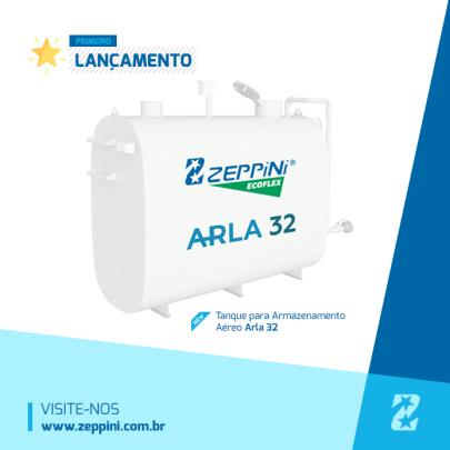 Tanque para Armazenamento Aereo Arla32 - Zeppini Ecoflex