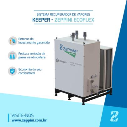 Keeper reduz emissão de vapores em postos