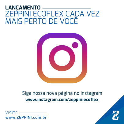 12022019 - Zeppini Ecoflex agora no Instagram