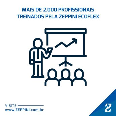 26022019 - Zeppini Ecoflex bate novo recorde de profissionais treinados em 2018