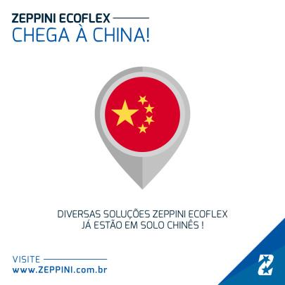 30052019 - Soluções Zeppini Ecoflex chegam a China