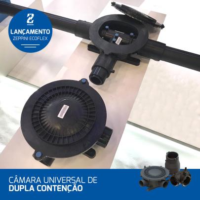 14082019 - ExpoPostos 2019 - Zeppini Ecoflex inova com nova Câmara Universal de Dupla Contenção