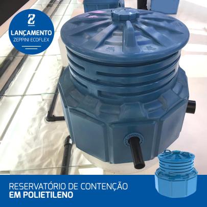 15082019 - ExpoPostos 2019 - Zeppini Ecoflex lança novo modelo de Reservatório de Contenção (em Polietileno)
