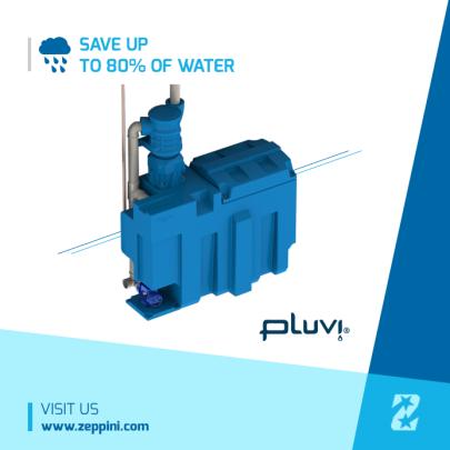 Pluvi System - Rainwater Harvesting Zeppini Ecoflex