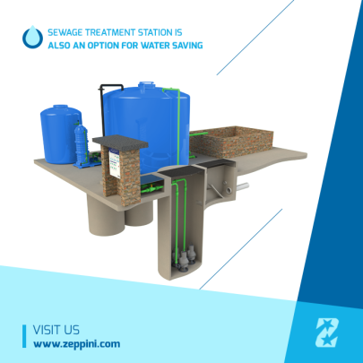 Zeppini Ecoflex Sewage Treatment Station