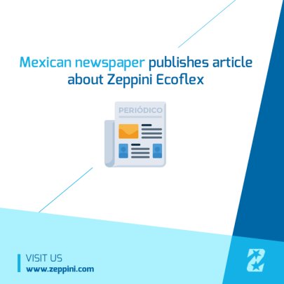 Zeppini Ecoflex in Mexican Newspaper