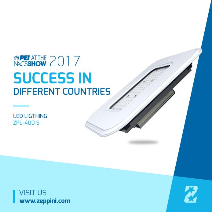9802b47fe PEI 2017 – Zeppini Ecoflex L.E.D. Luminaire arrives in new countries ...