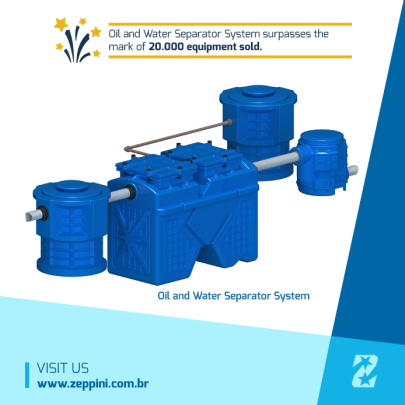 Zeppini Ecoflex Oil and Water Separator System